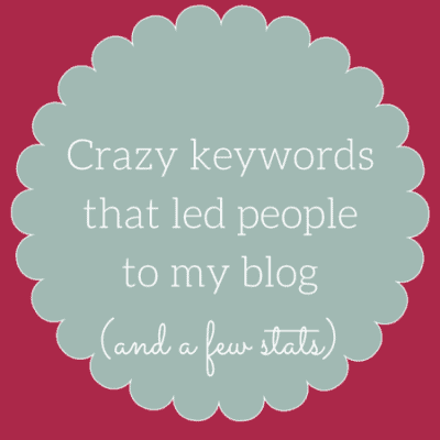 Oui In France blog stats & some crazy keywords that brought people here