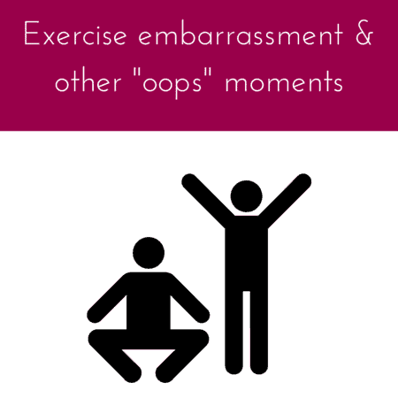 exercise embarrassment