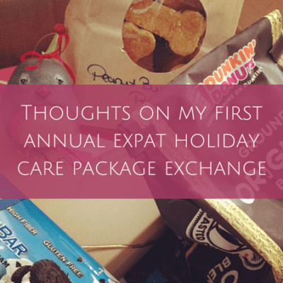 Wrap-up: Thoughts on my first annual #expat holiday care package exchange
