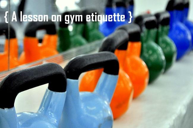 gym etiquette kettlebells
