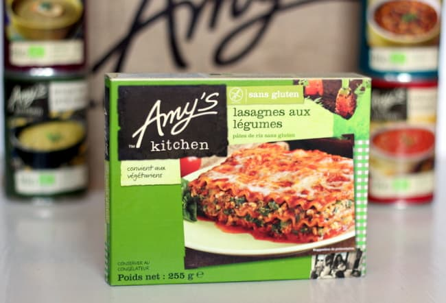 Spotlight on healthy brands: Amy\'s Kitchen in France