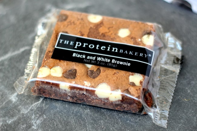 the protein bakery chocolate brownie bar