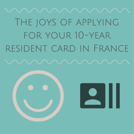 residence card in france