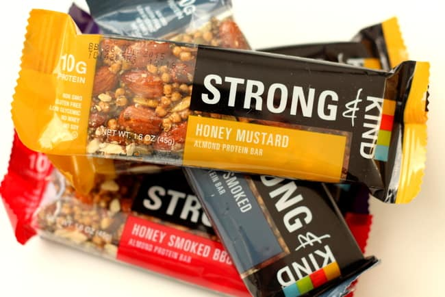 kind strong bars are delicious