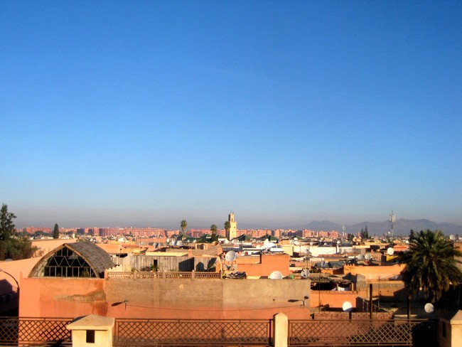 marrakesh view from riad