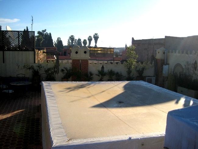 morocco riad tarp cover