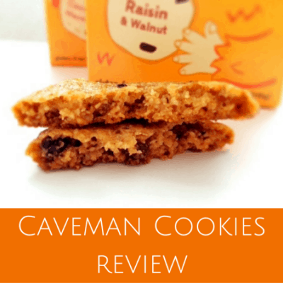 Healthy dessert: Caveman Cookies review