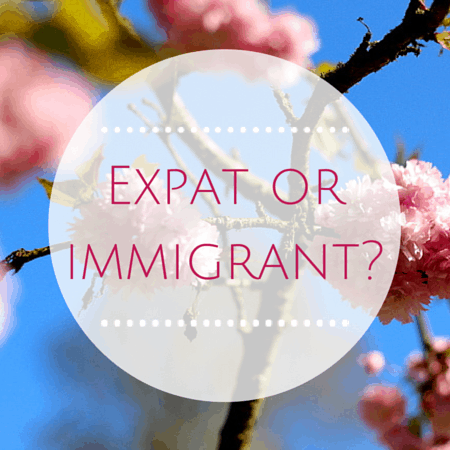 Expat or immigrant difference