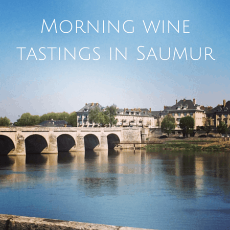 Morning wine tastings in Saumur