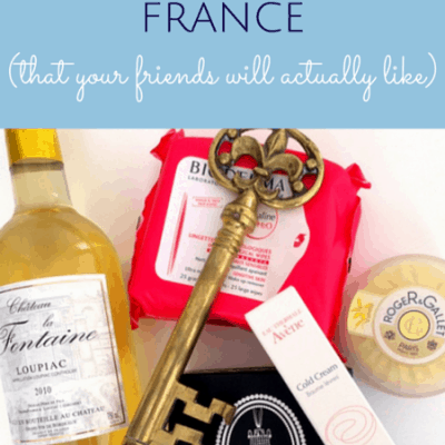 Best souvenirs from France that your friends will appreciate