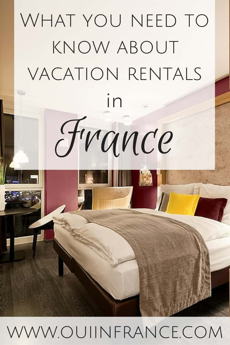 What you need to know about vacation rentals in france