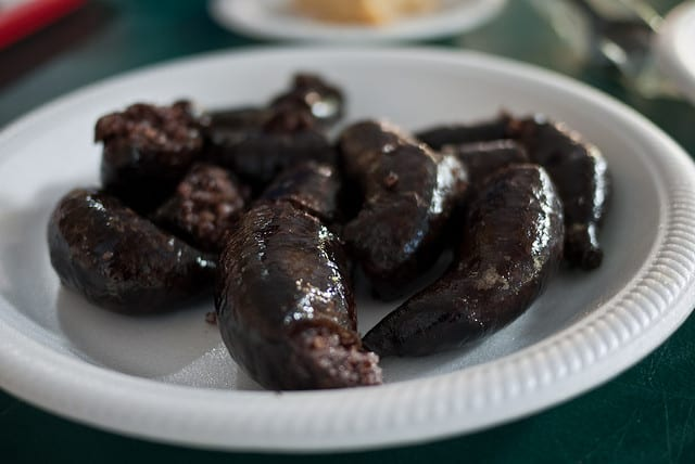 blood sausage is disgusting