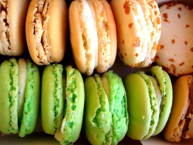 macarons from laduree paris souvenir