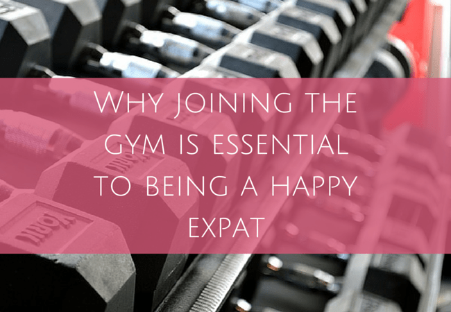 Why joining the gym makes a happy expat