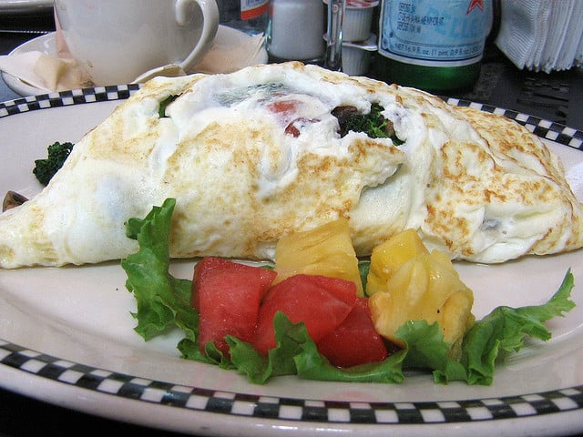egg white omelet in france