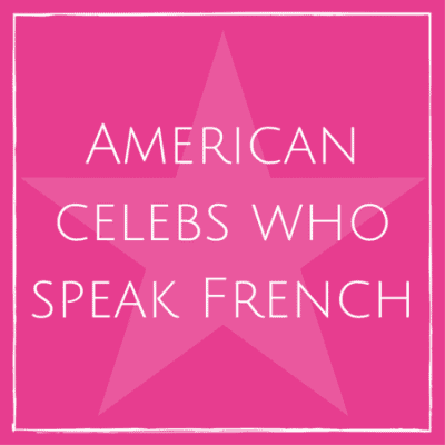 American celebrities who speak French (VIDEOS)