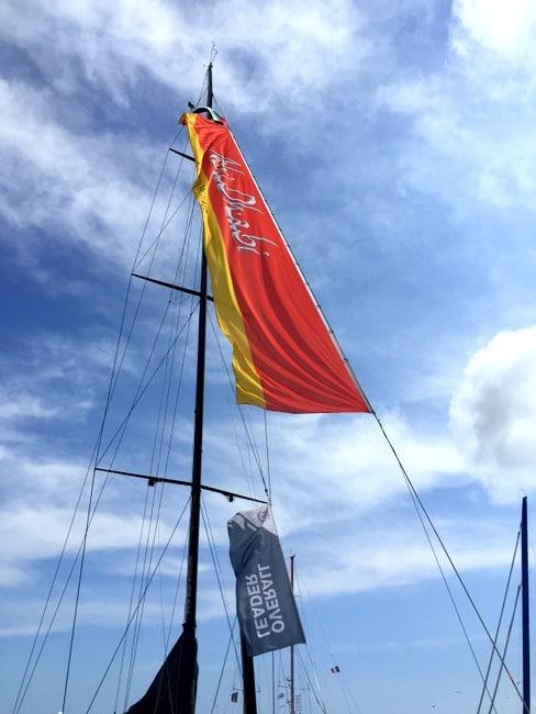 volvo ocea race team abu dhabi sail