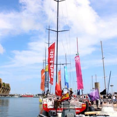 Our weekend in Lorient for the Volvo Ocean Race