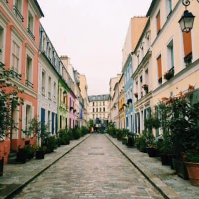 Wednesday Mishmash: Colorful Rue Cremieux in Paris