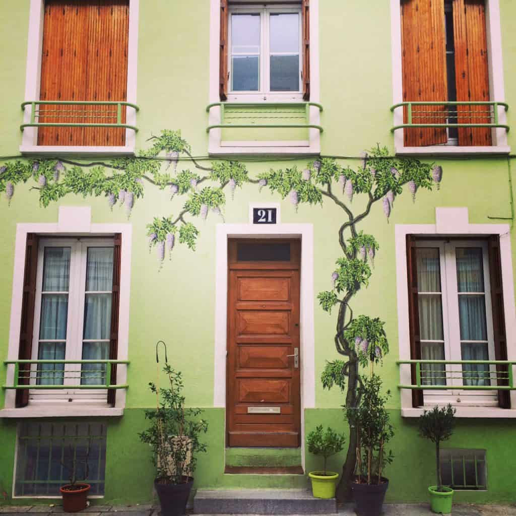 rue cremieux paris green house