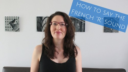 how to say the french r sound