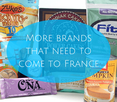 Take 2: More brands that need to come to France