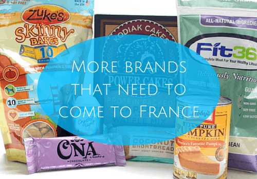 More brands that need to come to France