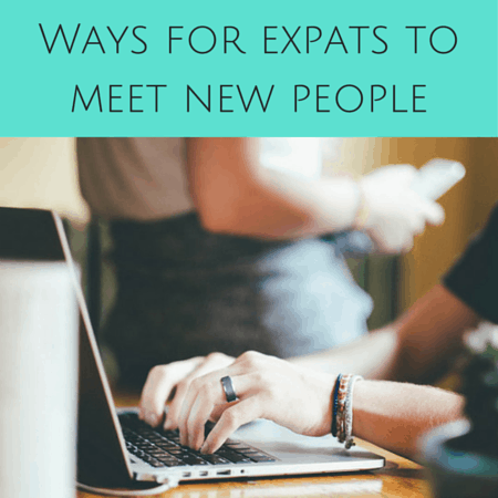 Ways for expats to meet new people