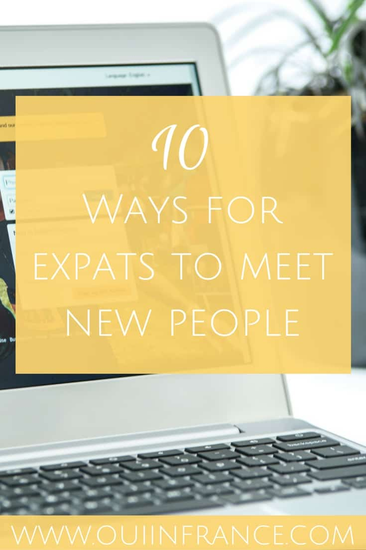 ways expats can meet new people