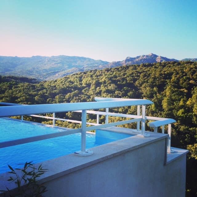 corsica villa view