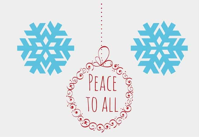 peace to all holiday exchange