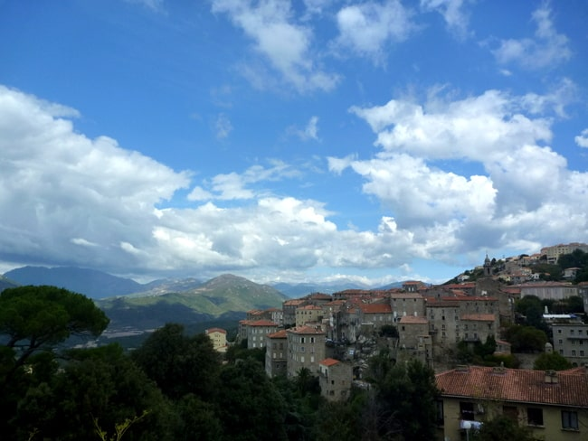 sartene corsica view