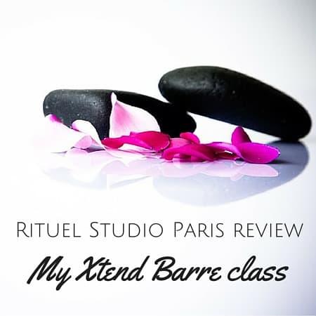 Rituel Studio Paris review Xtend Barre class