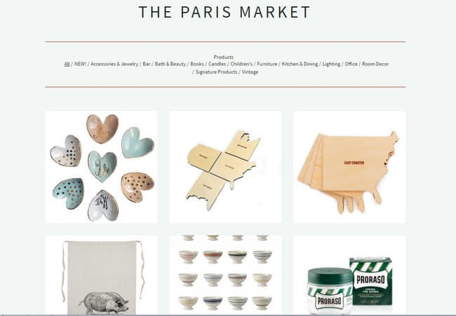 the paris market online