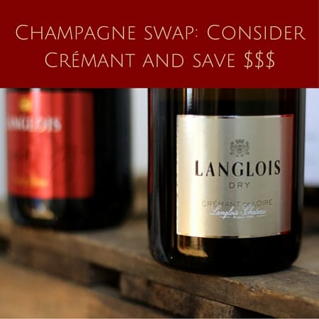 Champagne alternative-Consider Crémant and save a few bucks