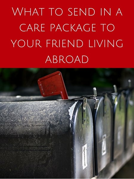 What to send in a care package to your friend living abroad