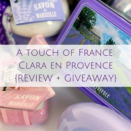 Clara en Provence{REVIEW + GIVEAWAY}