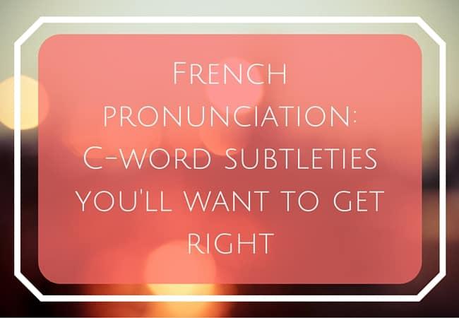 french pronunciation help