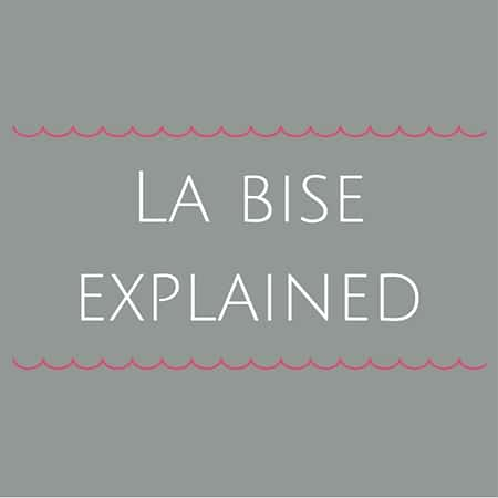 French cheek kisses- La bise explained