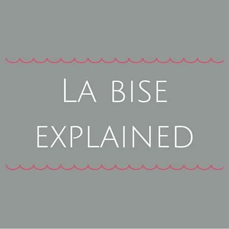 French cheek kisses- La bise explained
