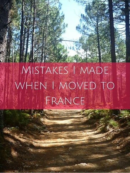 Mistakes I made when I moved to France (4)