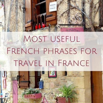 Basic French language travel phrases for a trip to France (AUDIO)