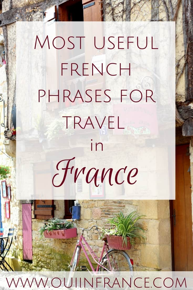 Most useful french phrases for travel in france (1)