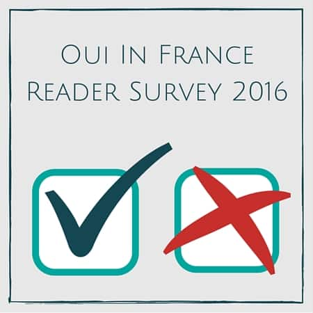 Oui In France Reader Survey 2016