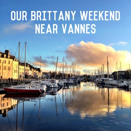 brittany weekend near vannes