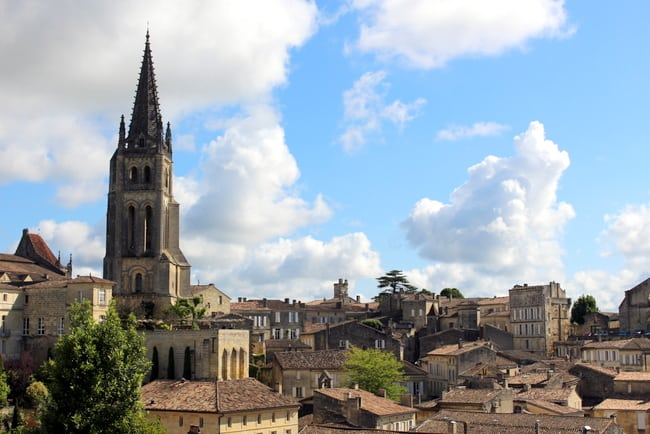 st emilion france view
