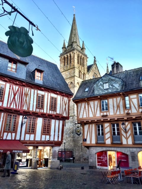 vannes old town houses