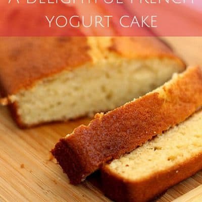A delightful French yogurt cake