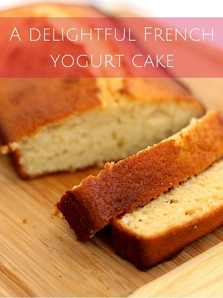 how to make a french yogurt cake
