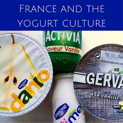 France and the yogurt culture